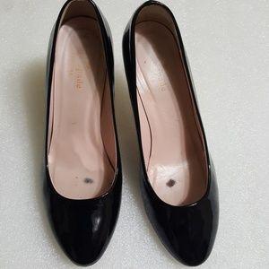 ♨️KATE SPADE♨️ black patent leather size 6B
